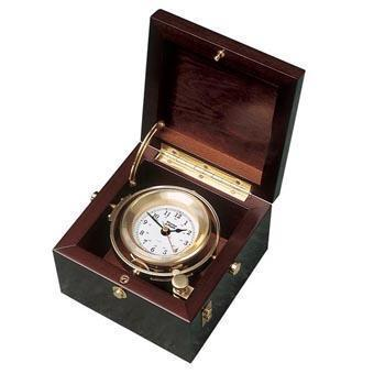 Weems and Plath Gimballed Box Clock