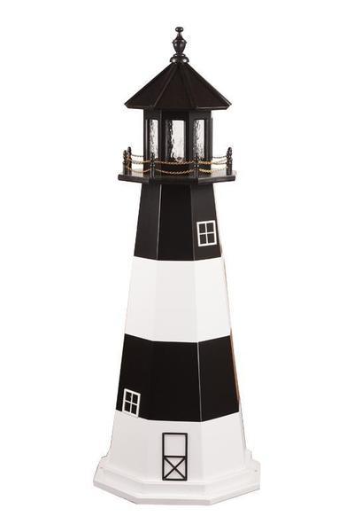 Fire Island Wood Nautical Lighthouse