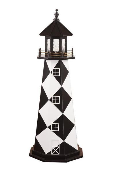 Cape Lookout Wood Nautical Lighthouse