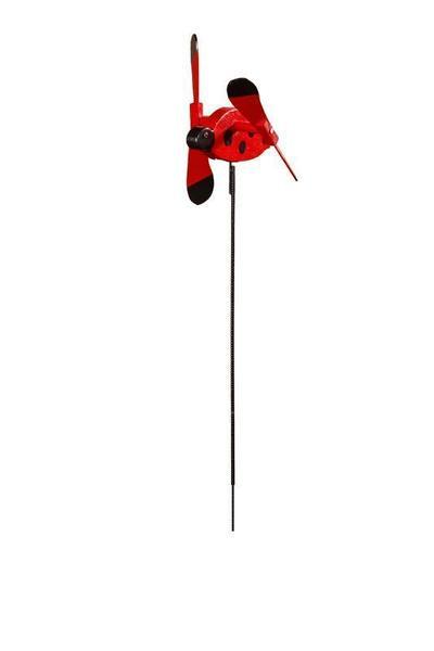 Lawn Decor Ladybug Garden Spinner