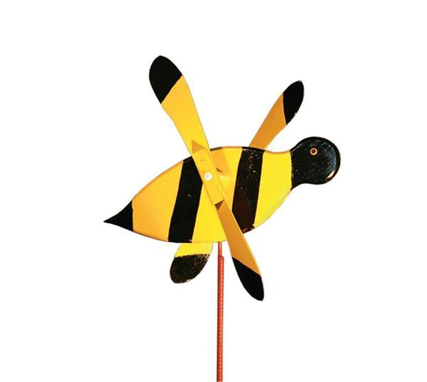 American Made Bumblebee Bee Garden Spinner