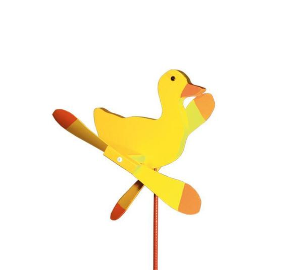 Amish Yellow Duck Garden Spinner