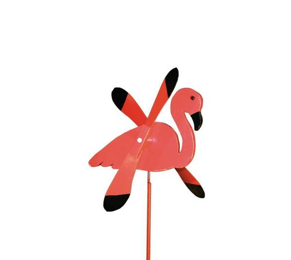 American Made Flamingo Wind Spinner