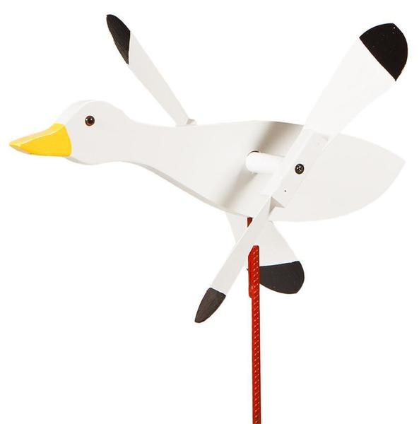 Amish Snow Goose Wind Spinner