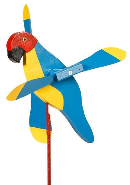 Parrot Whirly Bird Wind Spinner for the Yard