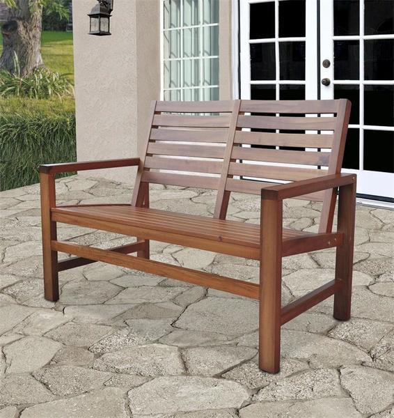 Wood Garden Bench