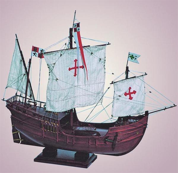 SMD-02 Pinta 1492 Model Ship