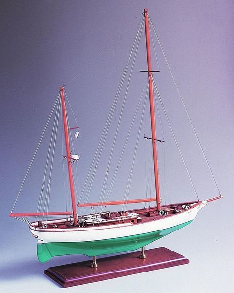 SM-08 Ticonderoga 1936 Model Ship