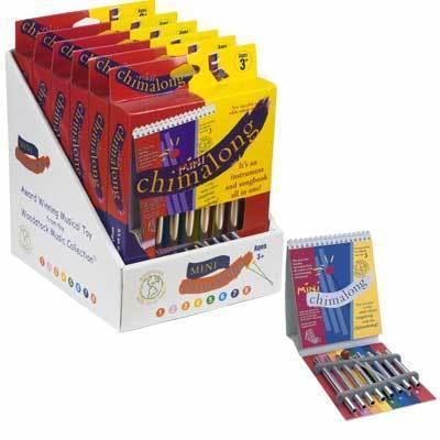 Woodstock Musical Instruments Mini Chimalong Set - 6 Pack