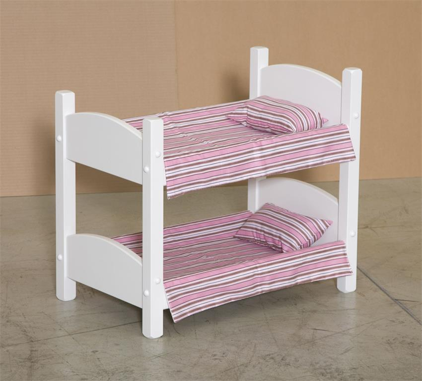 Wooden Doll Bunk Bed From Eco Friendly Digs