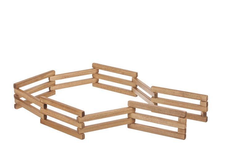 Wooden Toy Folding Fence