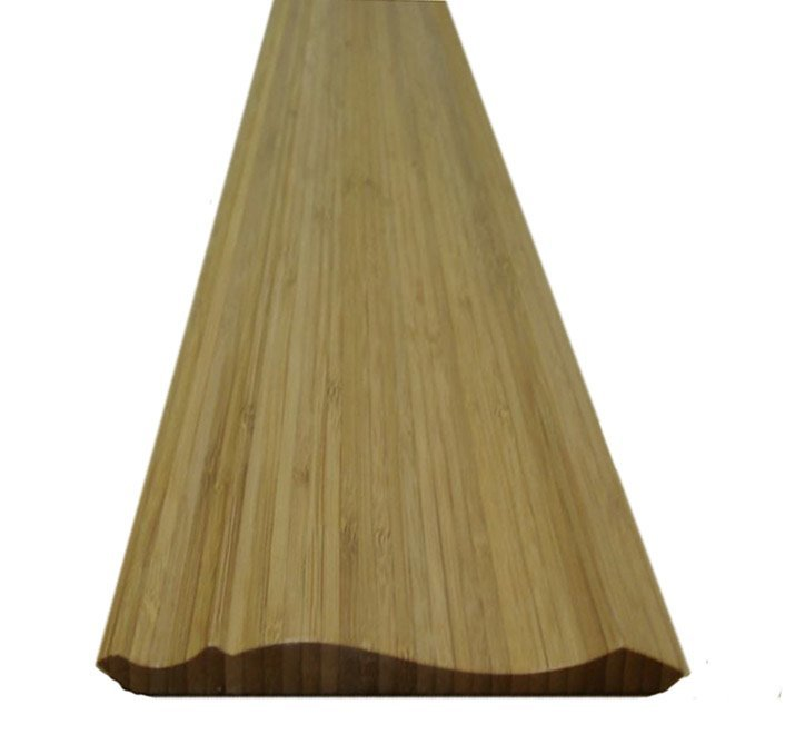 10 Pieces of Bamboo Crown Molding 16' Length
