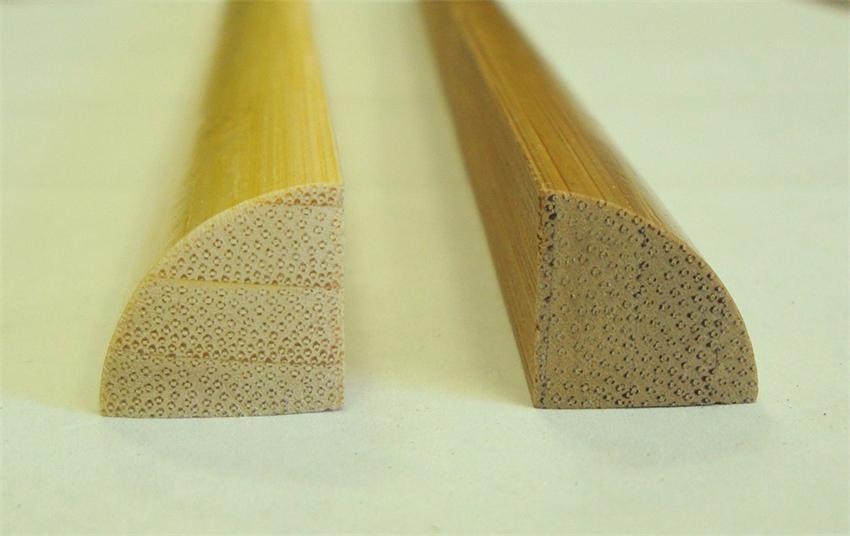 Bamboo Quarter Round Molding 8' Length