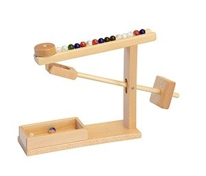 Wood Toys Maple Marble Machine