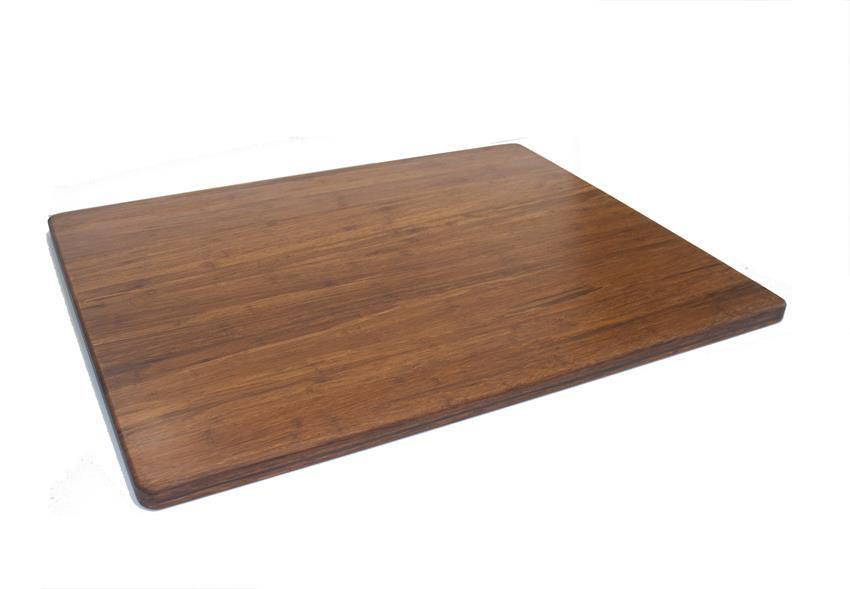 Strand Woven Bamboo Cutting Board 30 X 24 1 Carbonized