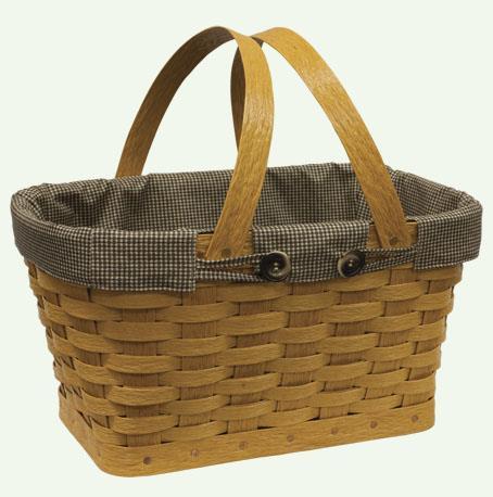 Recycled Plastic Farmer's Market Basket