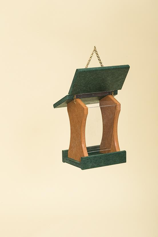 Recycled Plastic Mini Bird Feeder