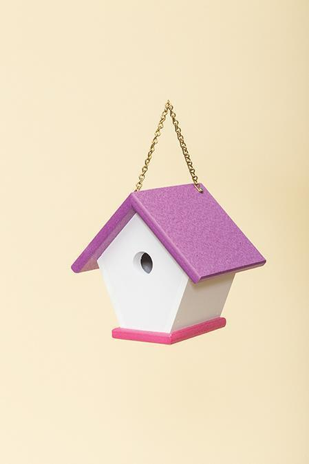 Recycled Plastic Poly Wren Bird House