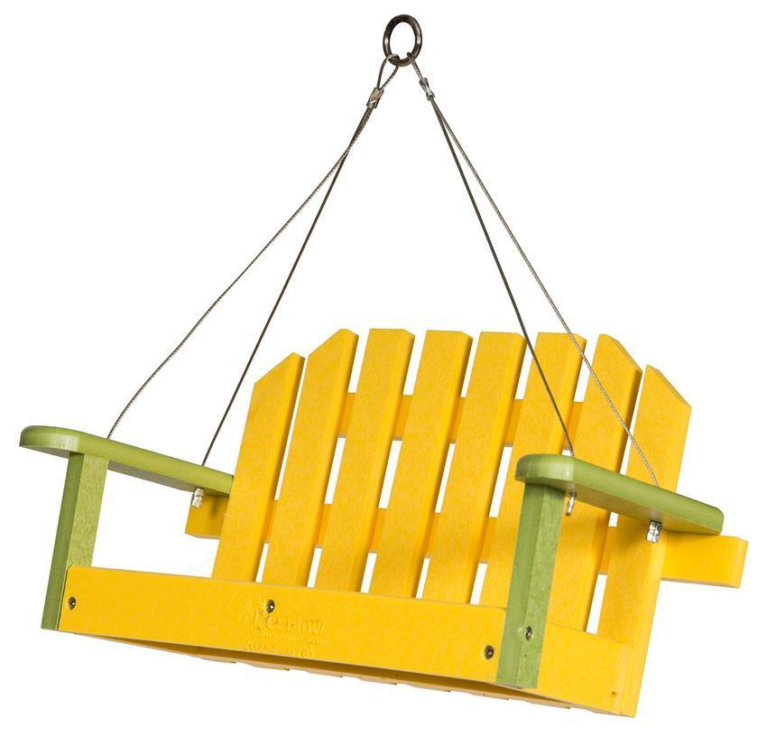 Eco Friendly Poly Bird Feeder Swing