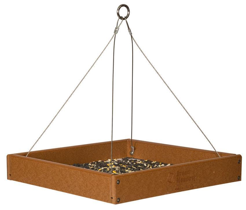 Eco Friendly Recycled Plastic Bird Feeder Tray
