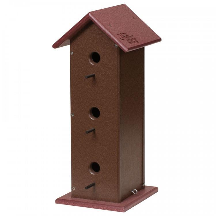Eco Friendly Bird House made from Recycled Plastic