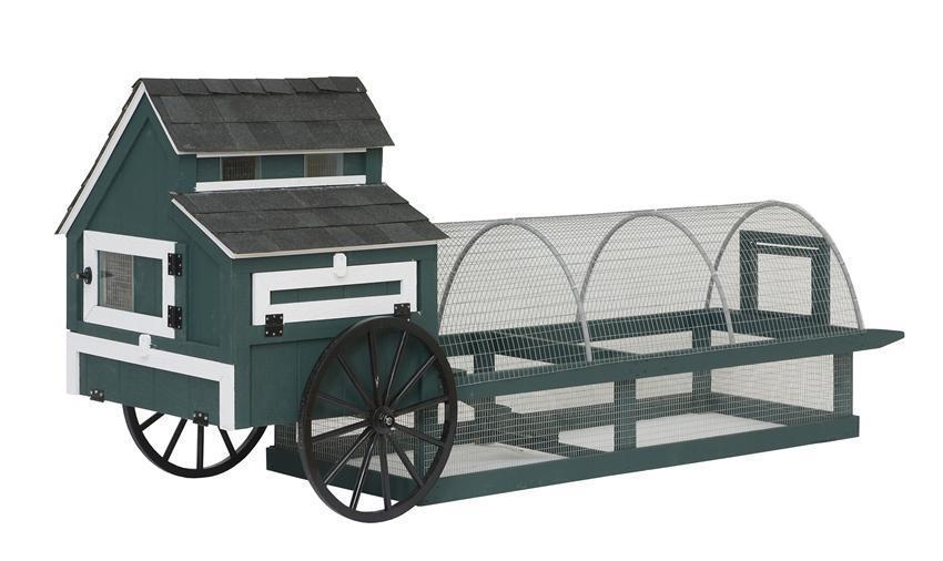 Green Living Mobile Chicken Coop