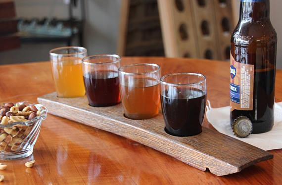 4-Glass Beer Flight Stave