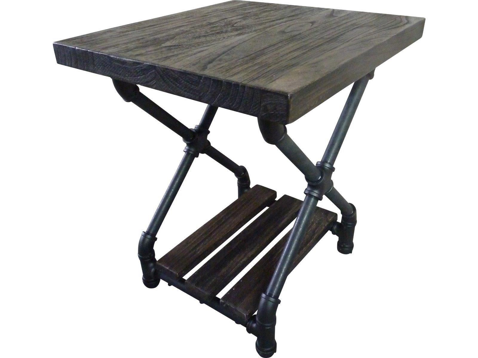 Modern Industrial Chic Side Table