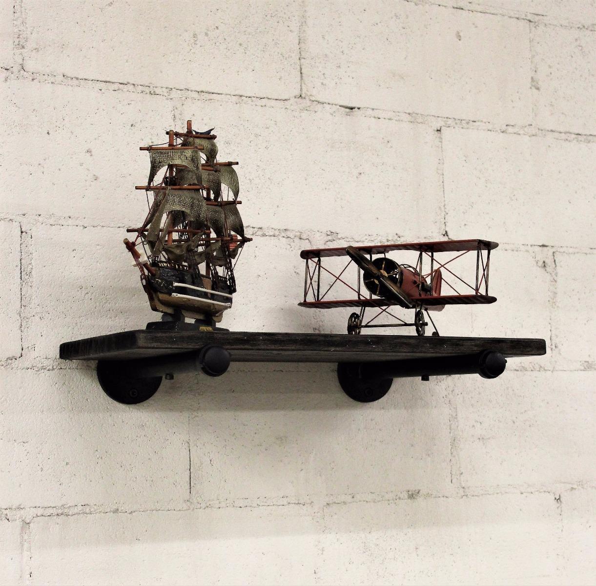 Industrial Chic Decorative Shelf