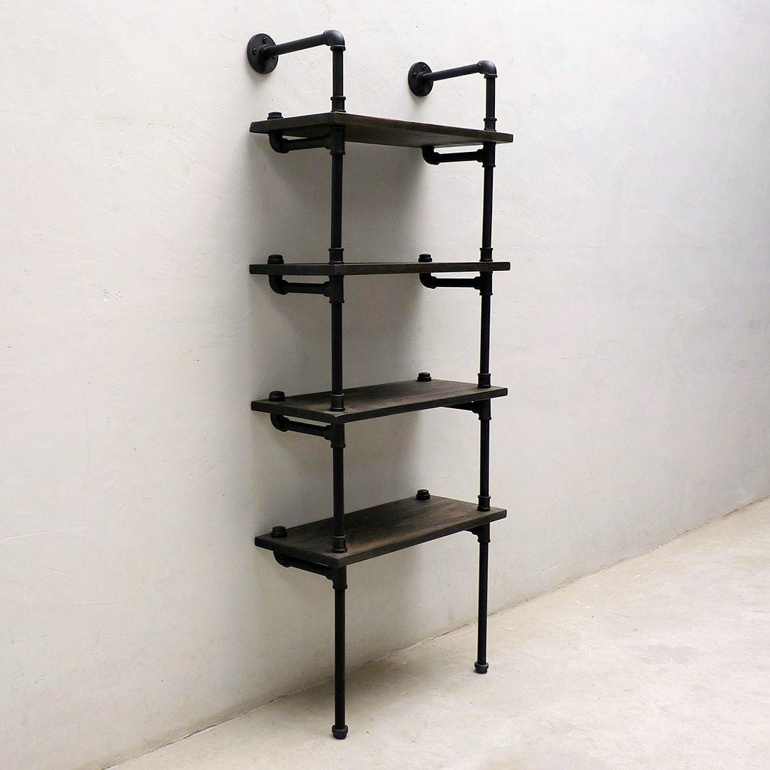 Sacramento Industrial Bookcase Display