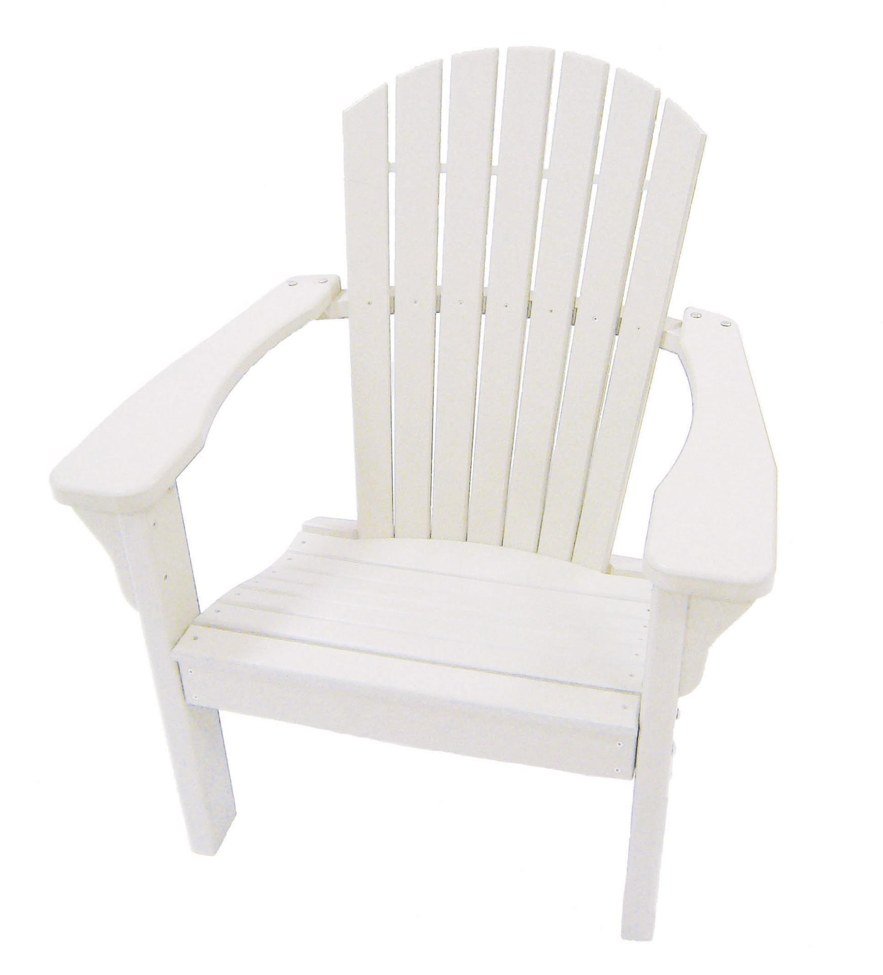 Recycled Poly Lumber Furniture Adirondack Chair