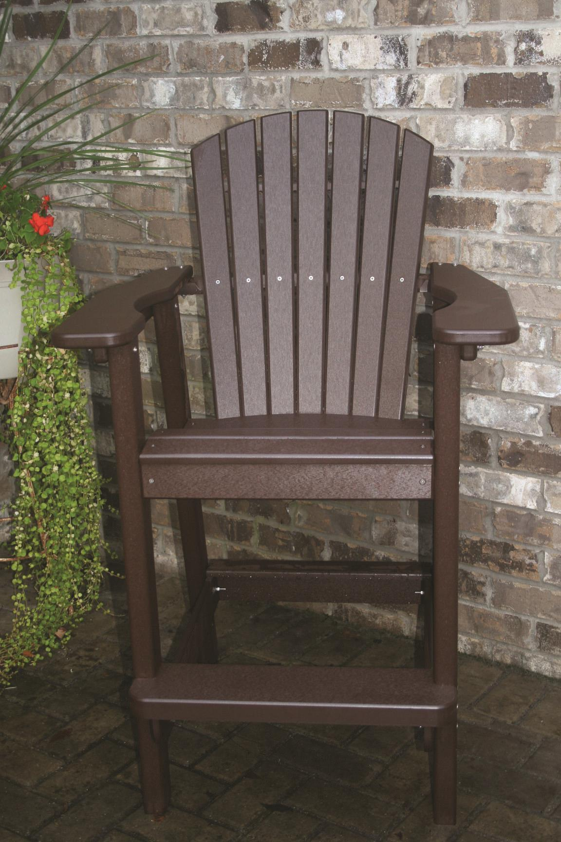 Recycled Poly Backyard Furniture Adirondack Chair