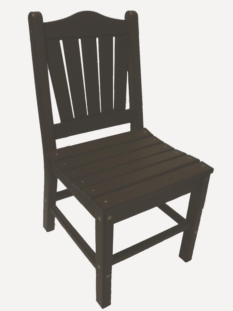 Recycled Poly Outdoor Dining Chair