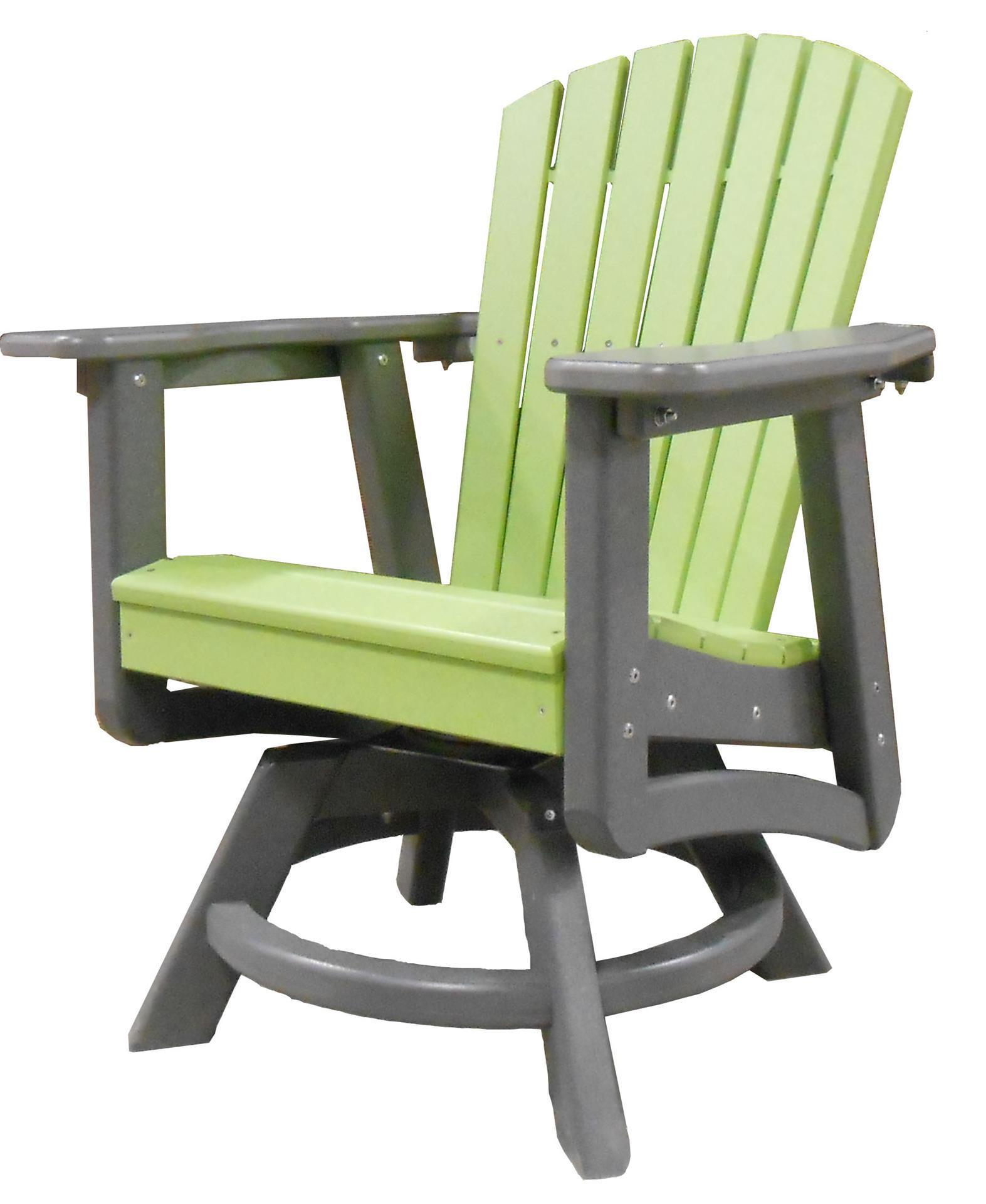 Superb Recycled Poly Outdoor Patio Furniture Swivel Dining Chair Ibusinesslaw Wood Chair Design Ideas Ibusinesslaworg
