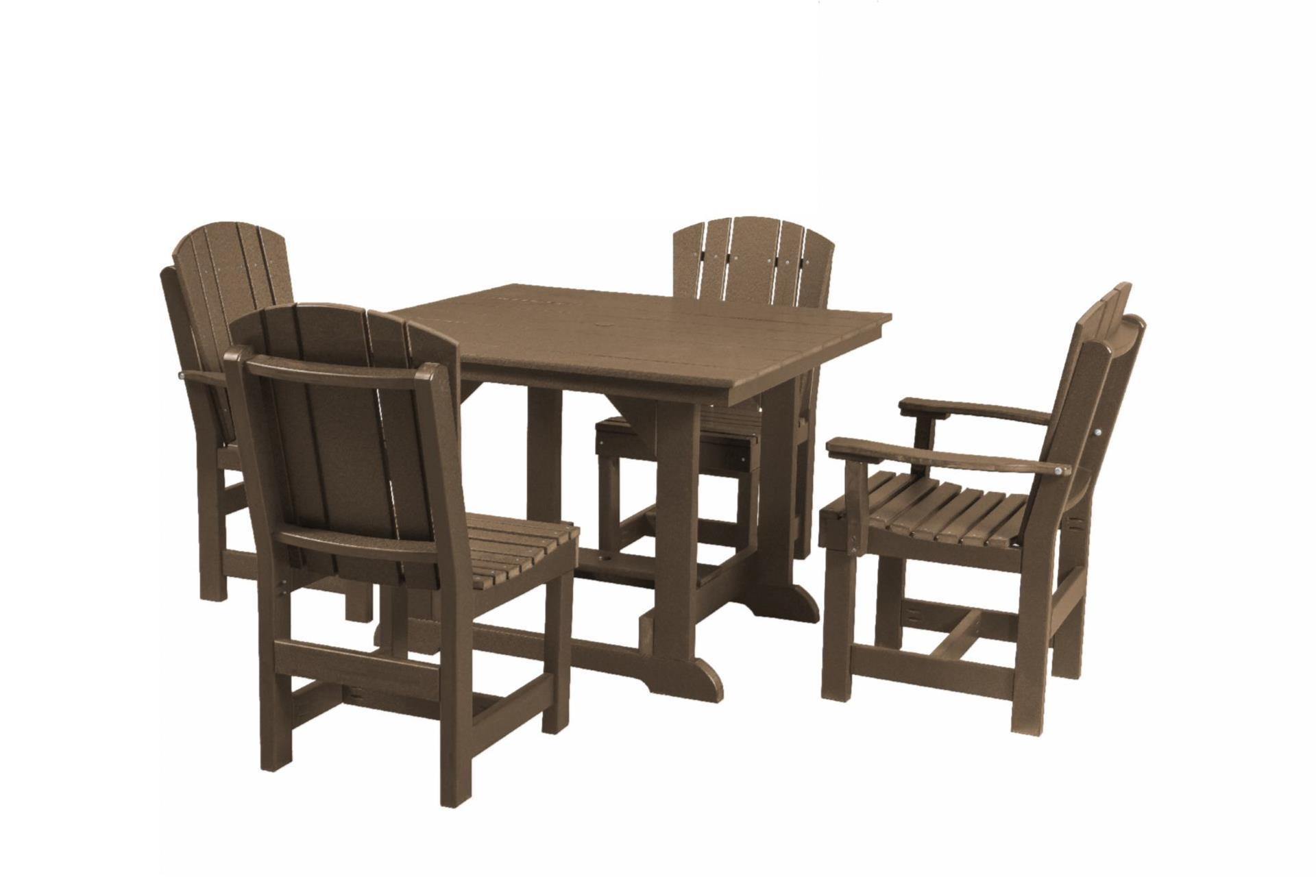 Eco Poly Outdoor Furniture Dining Set