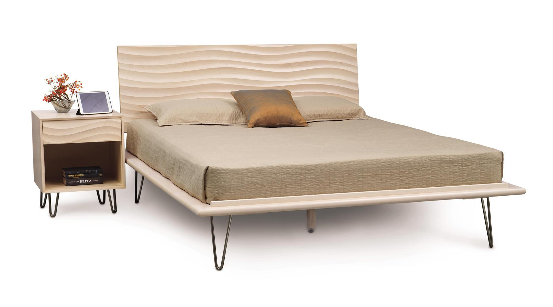 Copeland Wave Bed from Eco Friendly Digs