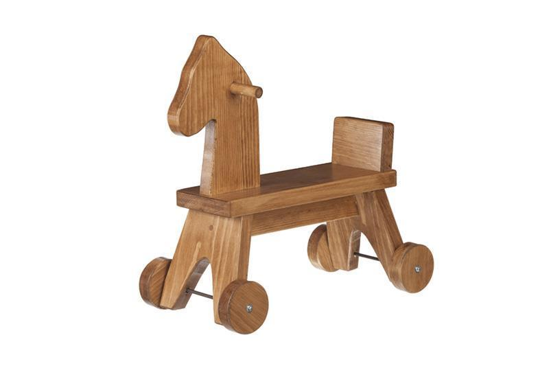 Wooden Toy Riding Horse