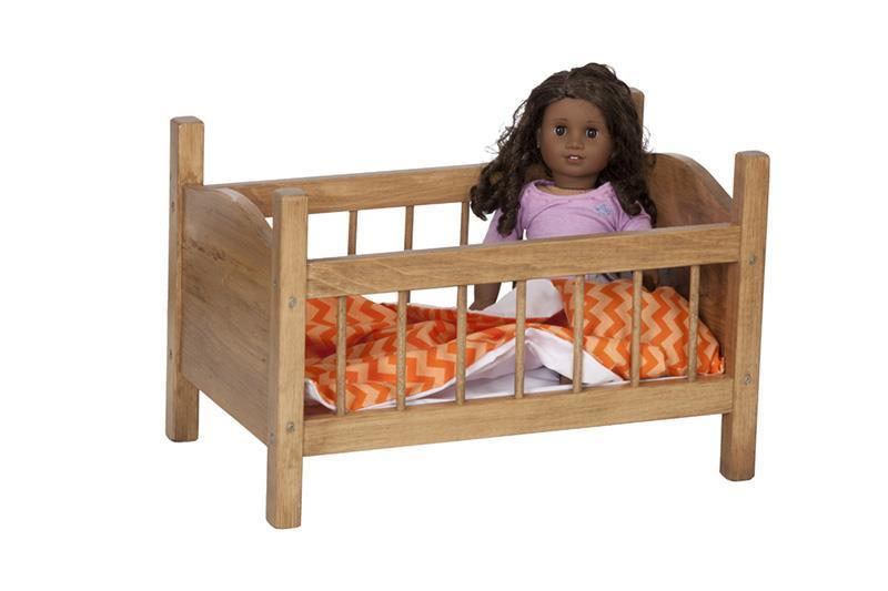 Wooden Toy Doll Crib