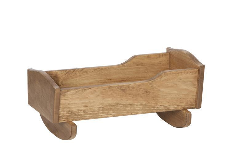 Wooden Toy Doll Cradle