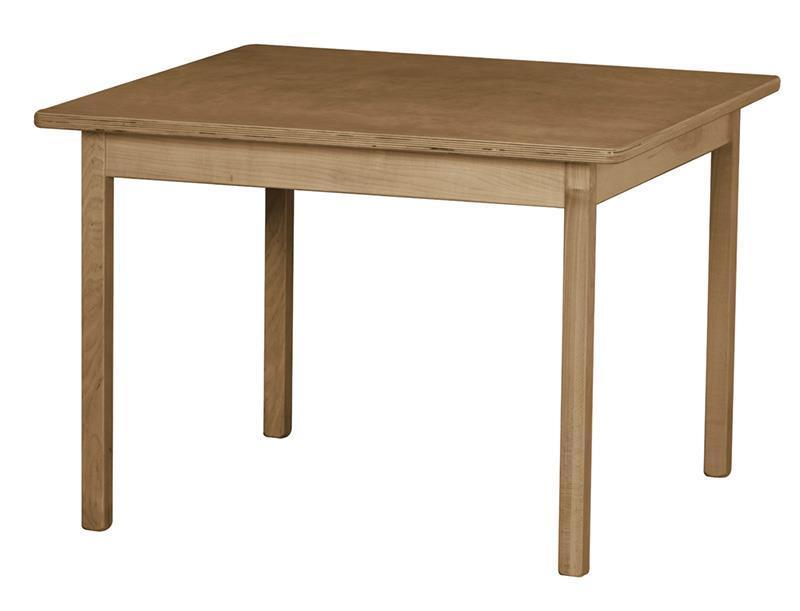 """Children's Play Furniture Wooden Table - 30"""" x 30"""""""