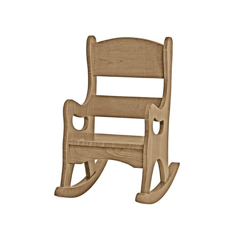Children's Play Furniture Wooden Rocker