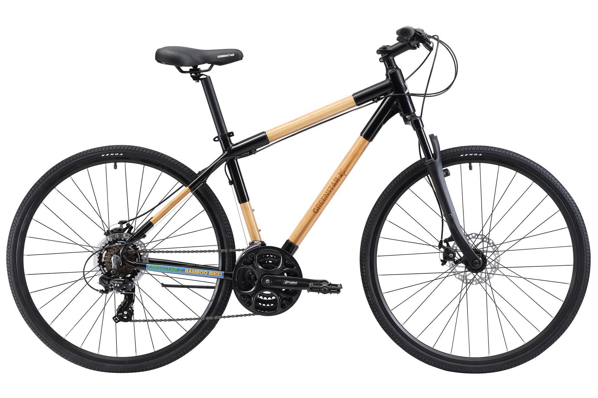 Eco Friendly Bamboo Bike - Hybrid Bicycle