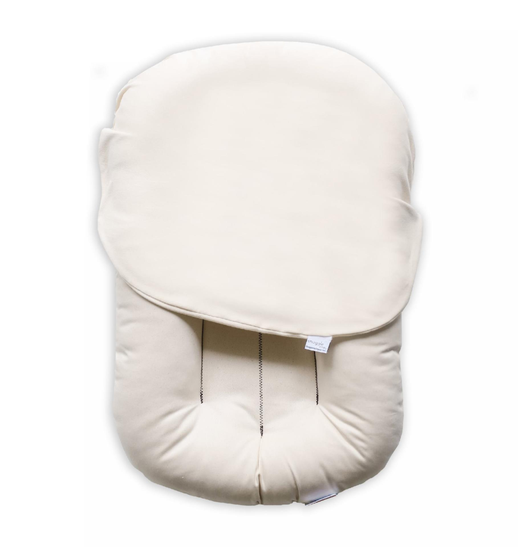 Organic Baby Lounger With Natural Cover