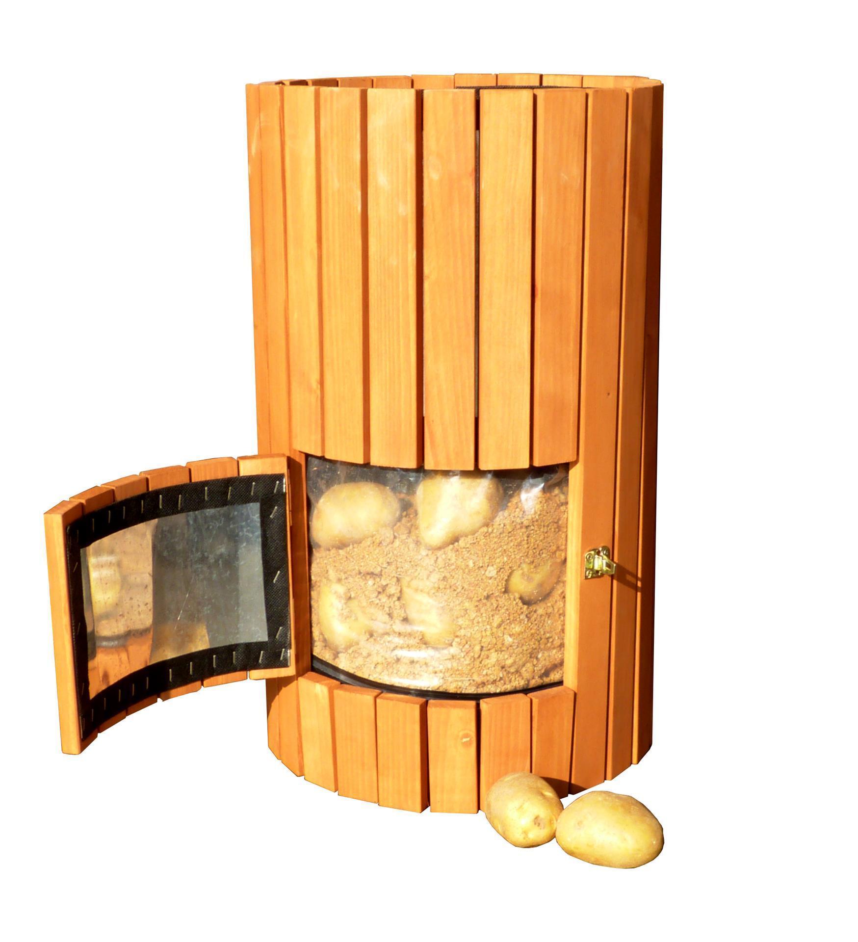 Potato Barrel - Wooden Potato Planter