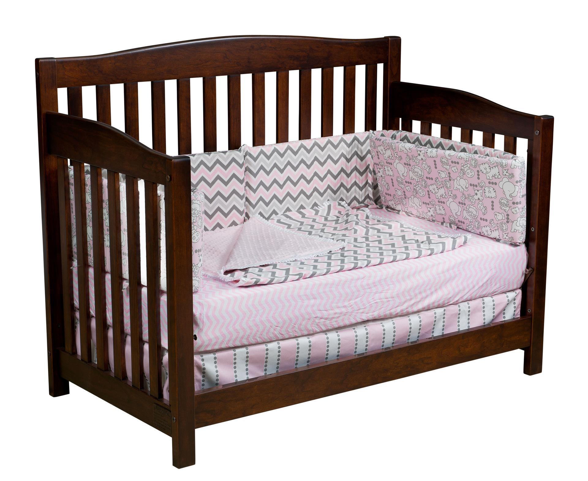 Monterey Solid Wood Convertible Crib