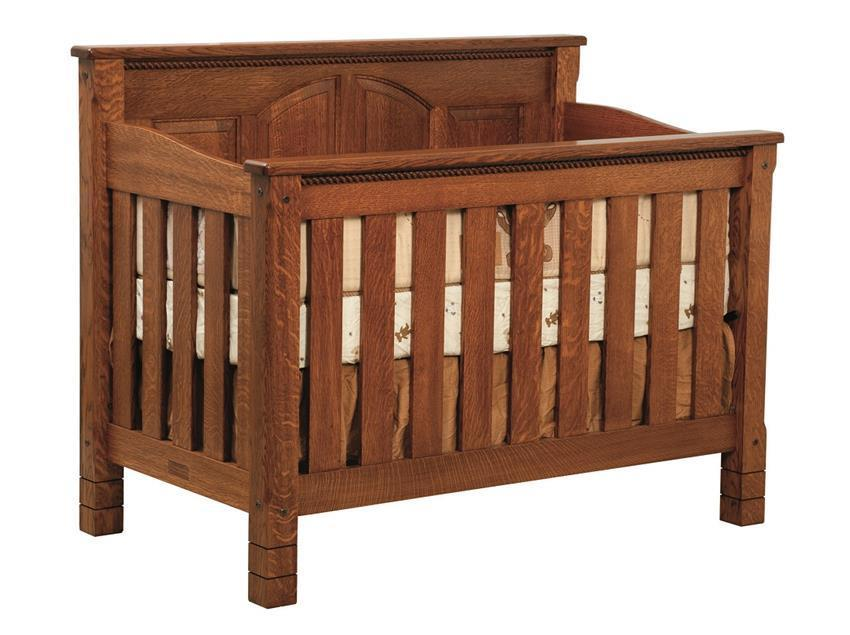 Solid Wood West Lake Convertible Crib
