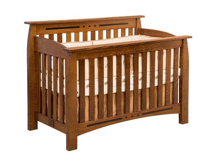 Linbergh Solid Wood Convertible Crib