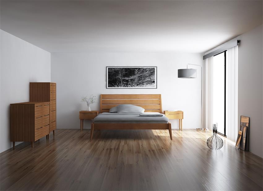 Sienna Bamboo Platform Bedroom Set, Bamboo Bedroom Furniture Set